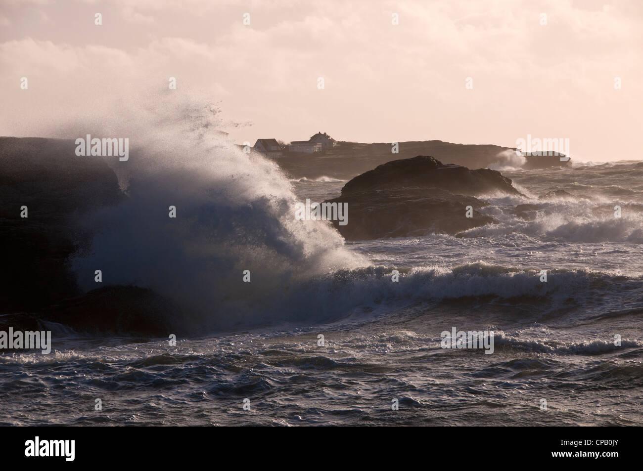 Trearddur Bay Anglesey North Wales UK. - Stock Image