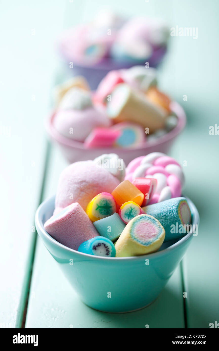 sweets - Stock Image