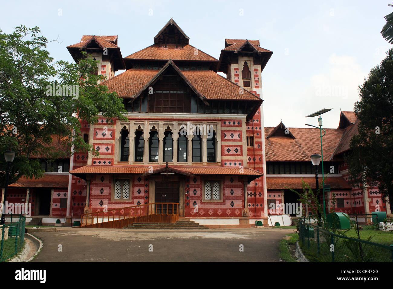 Napier Museum of Art and Natural history Trivandrum Kerala India Stock Photo