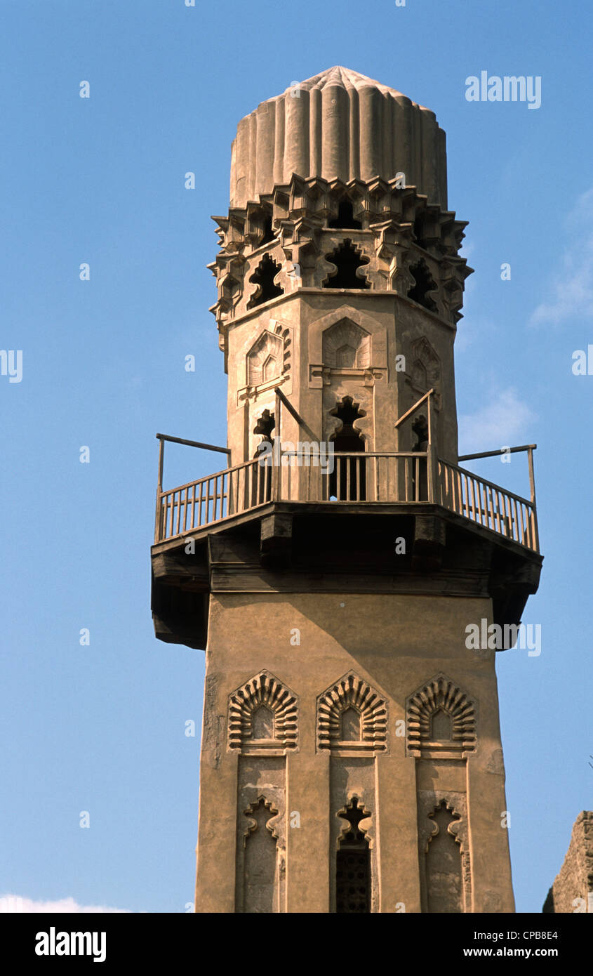 Egypt, Cairo, Madrassa of al-Salih Nagm al-Din Ayyub, - Stock Image
