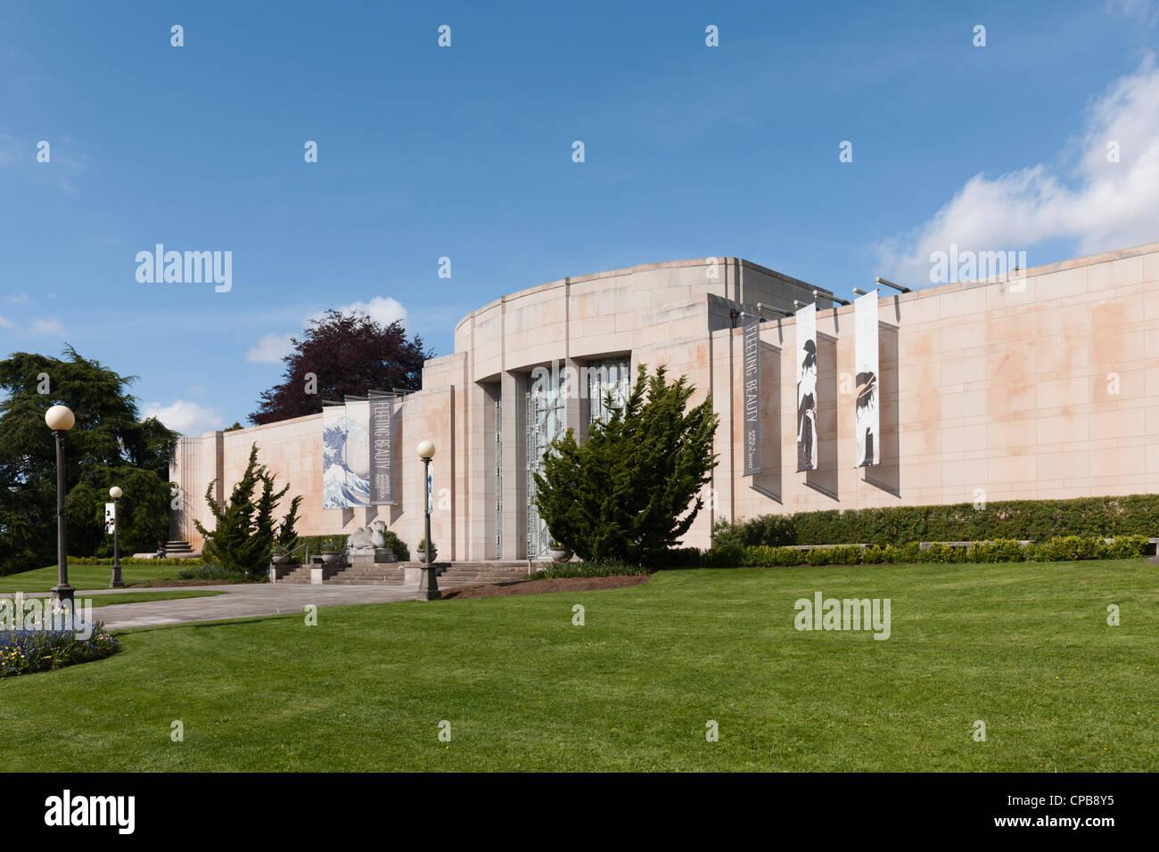 Seattle Asian Art Museum - Stock Image