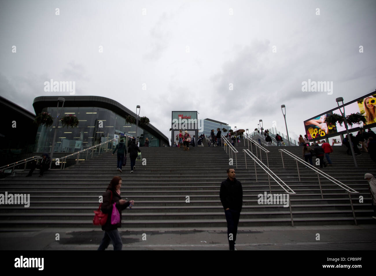 Westfield shopping centre stratford near olympic venue - Stock Image