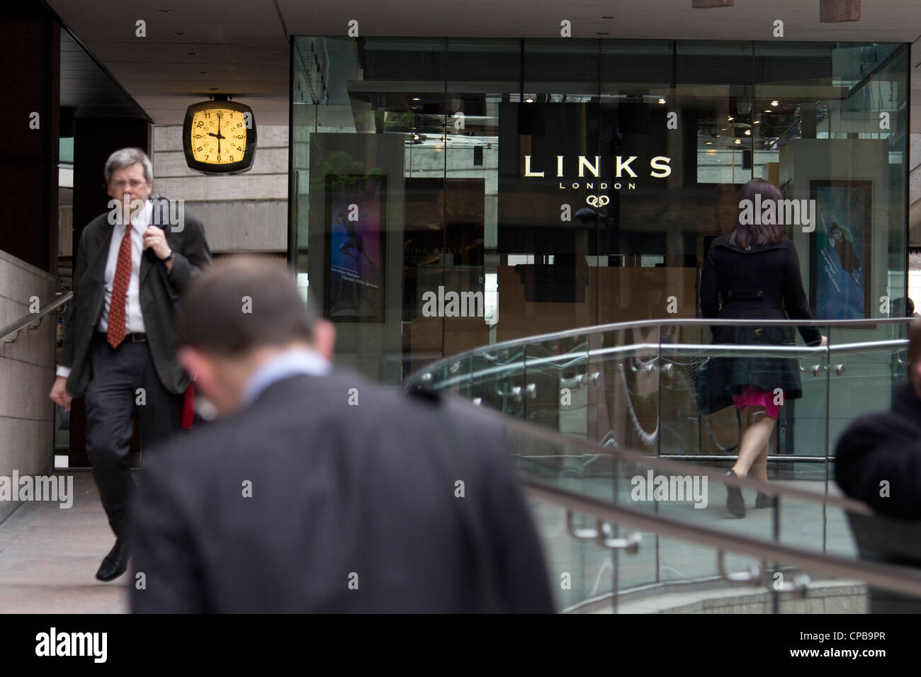 Links of London jewellery retail outlet - Stock Image