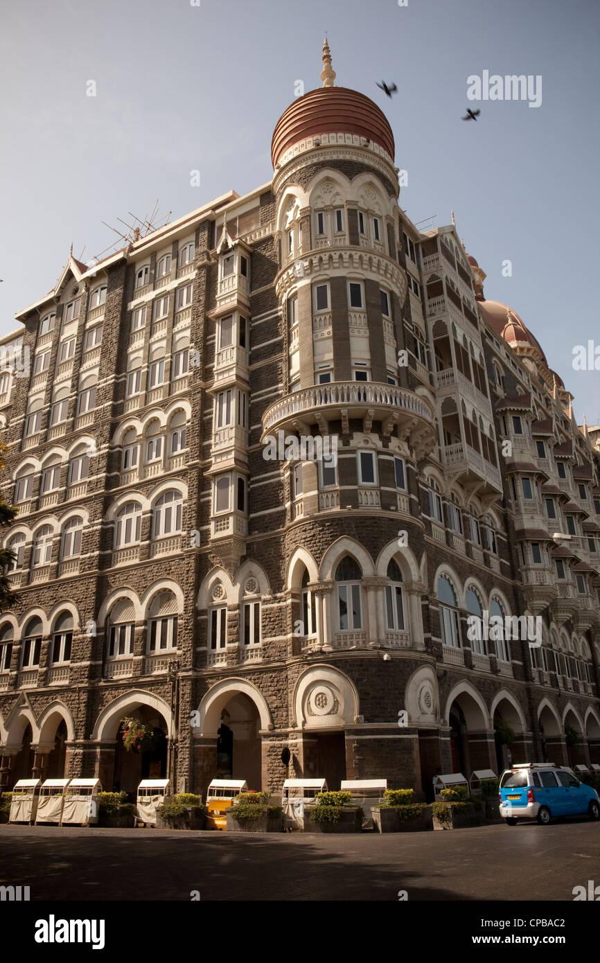 Taj Mahal Palace - Mumbai (Bombay), India - Stock Image