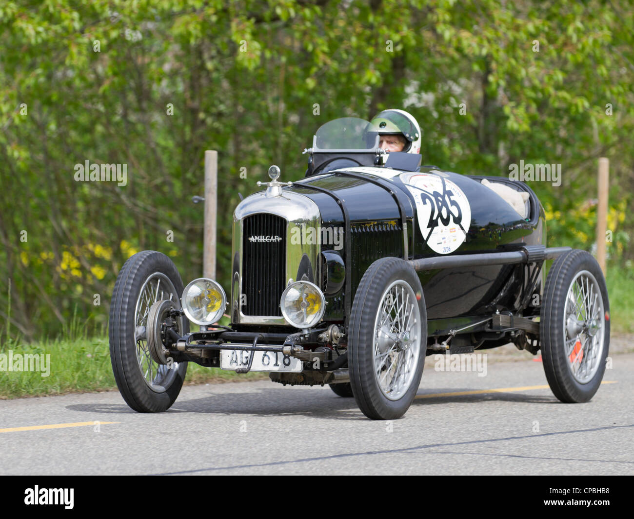 vintage pre war race car amilcar cg ss from 1926 at grand. Black Bedroom Furniture Sets. Home Design Ideas