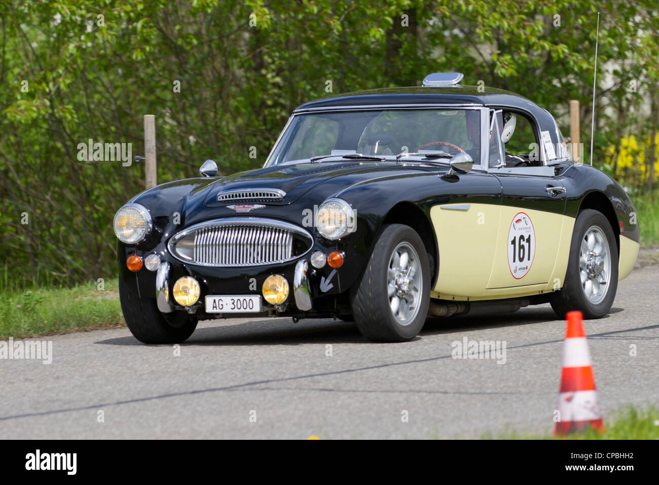Vintage race touring car Austin Healey 3000 MK III from 1966 at ...