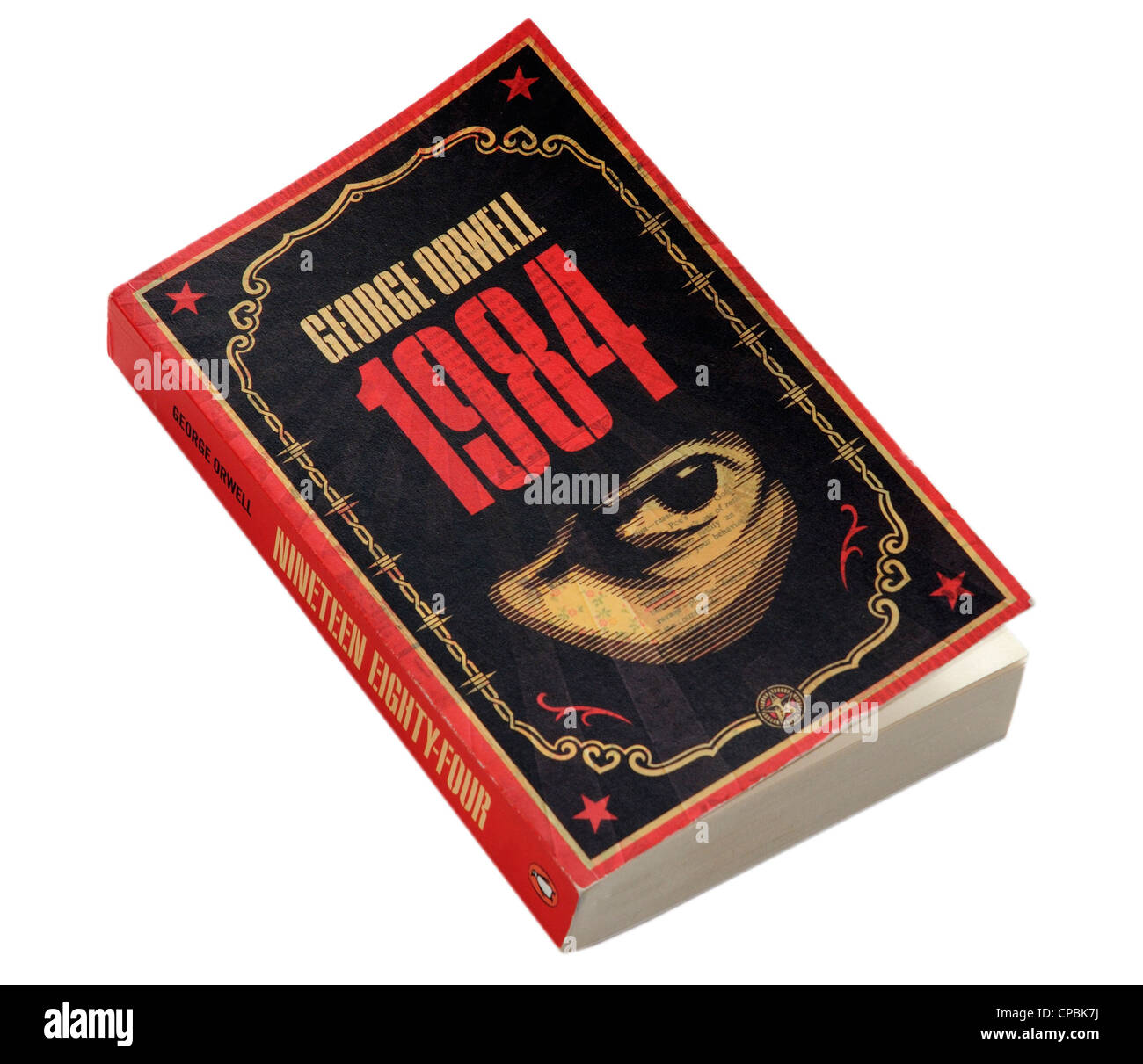 1984 by George Orwell Stock Photo