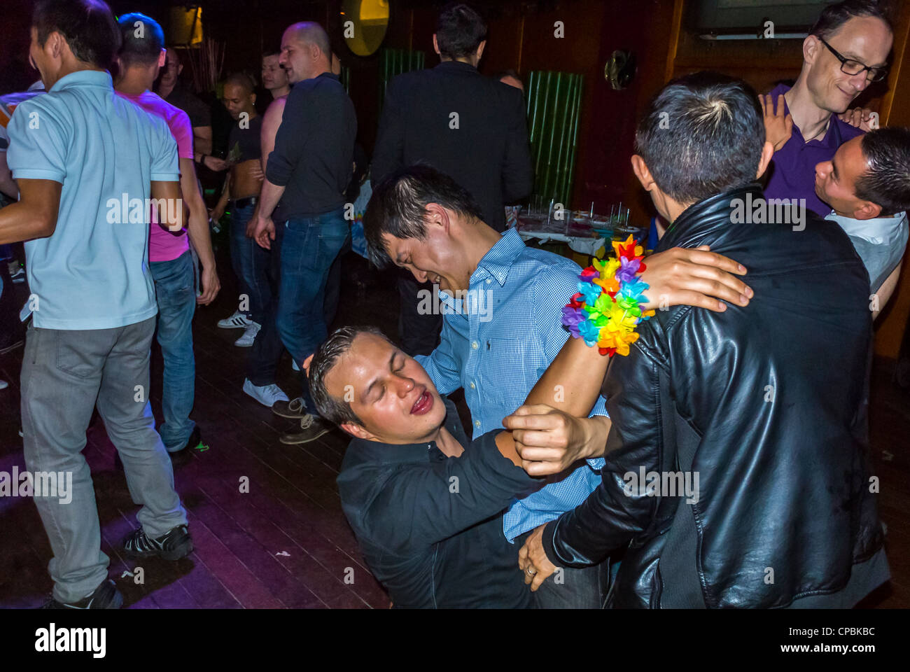 The club gay men