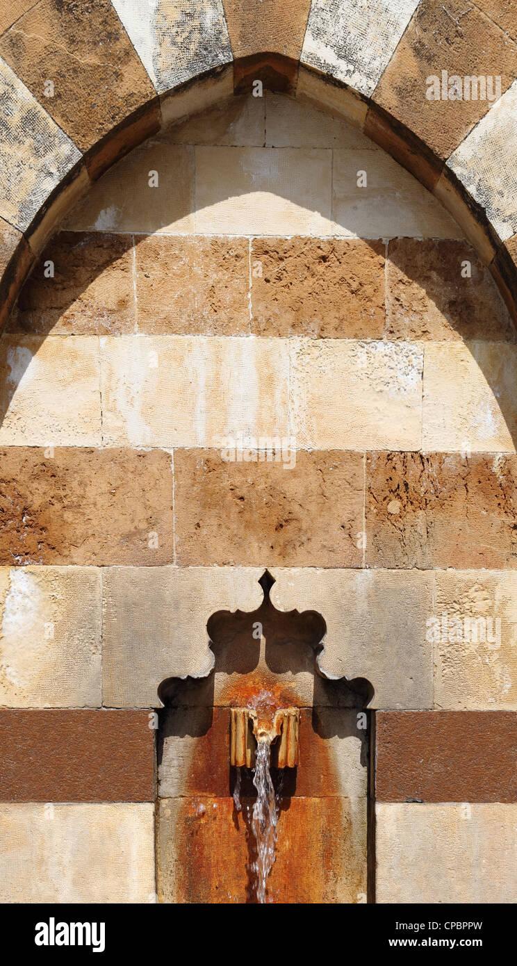 Arabesque Fountain (Lebanon) - Stock Image