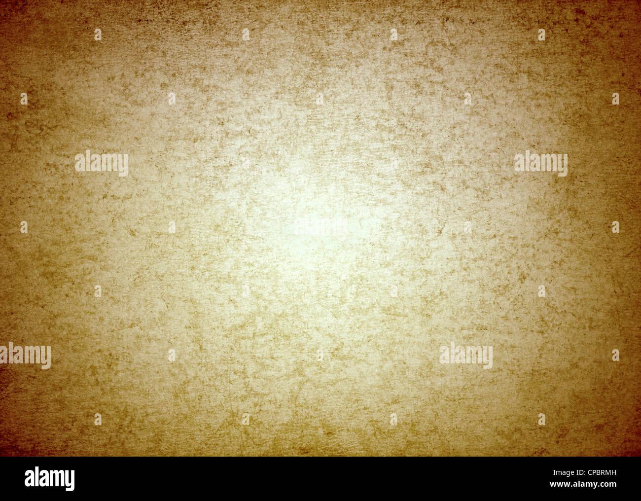 Old vintage paper vignette effect. - Stock Image