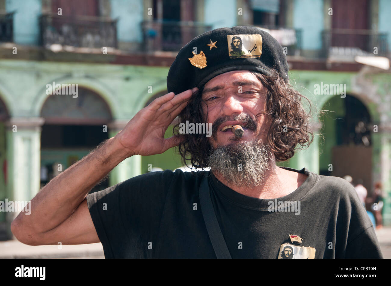 Che Guevara Impersonator in Habana Vieja (Havana Old Town) Havana 4f69f41429e