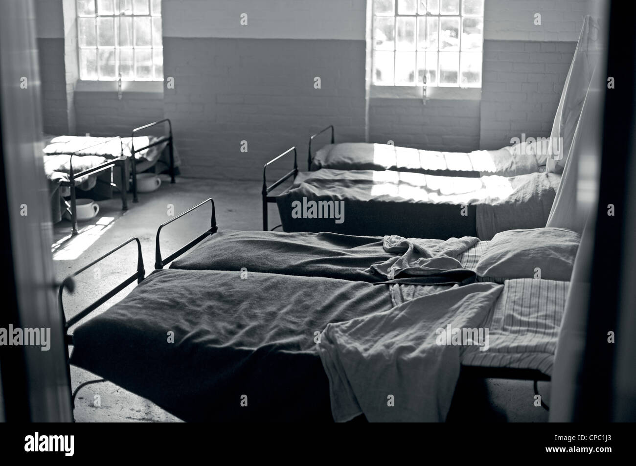 bedroom in a workhouse Stock Photo: 48207883 - Alamy