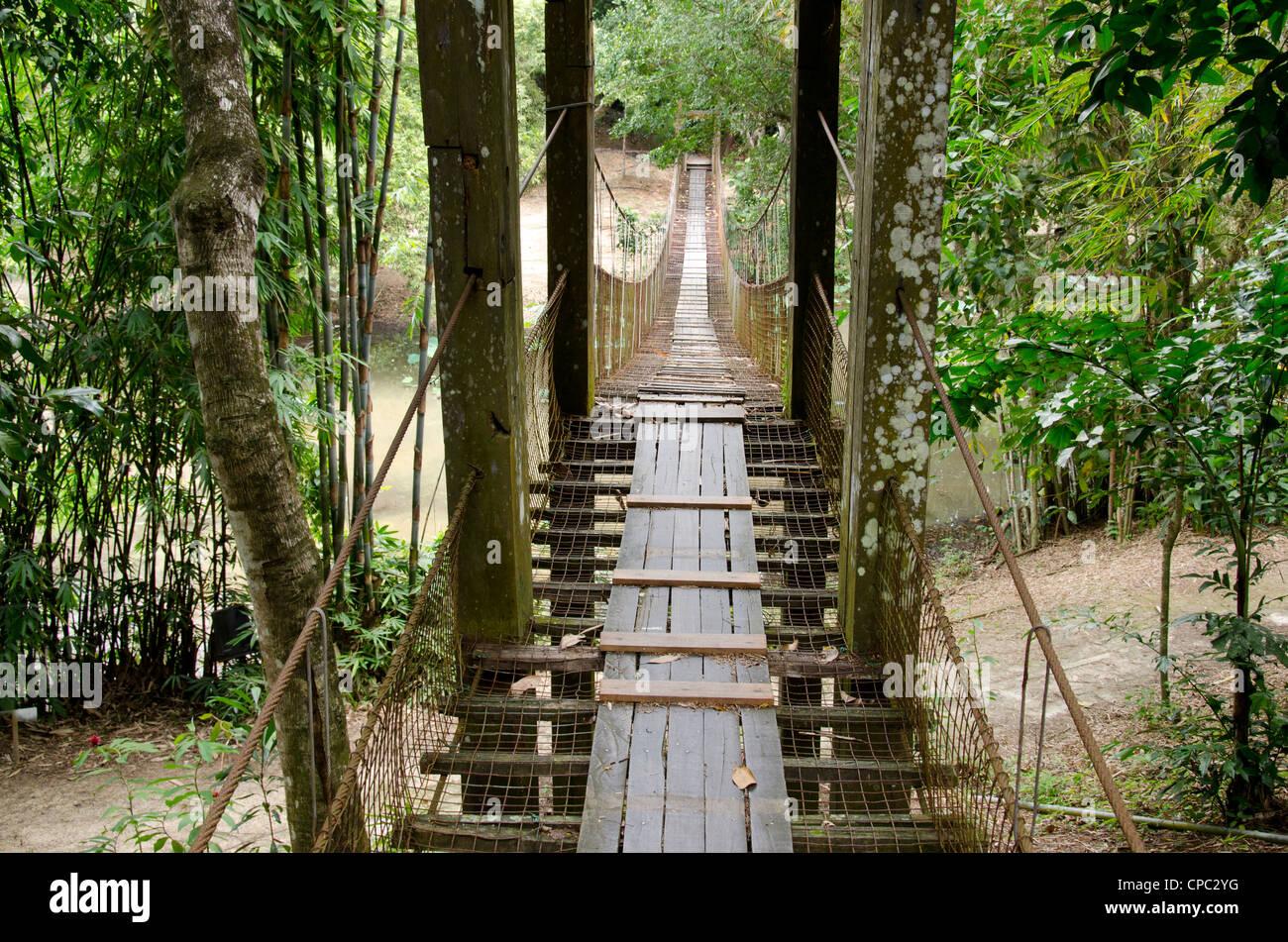 Malaysia, Borneo, Sabah, Kota Kinabalu. Heritage Cultural Village at Sabah Museum (State museum). - Stock Image