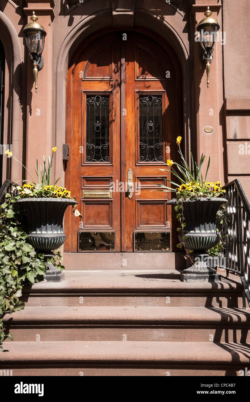 Brownstone Entrance Stock Photos Brownstone Entrance Stock Images