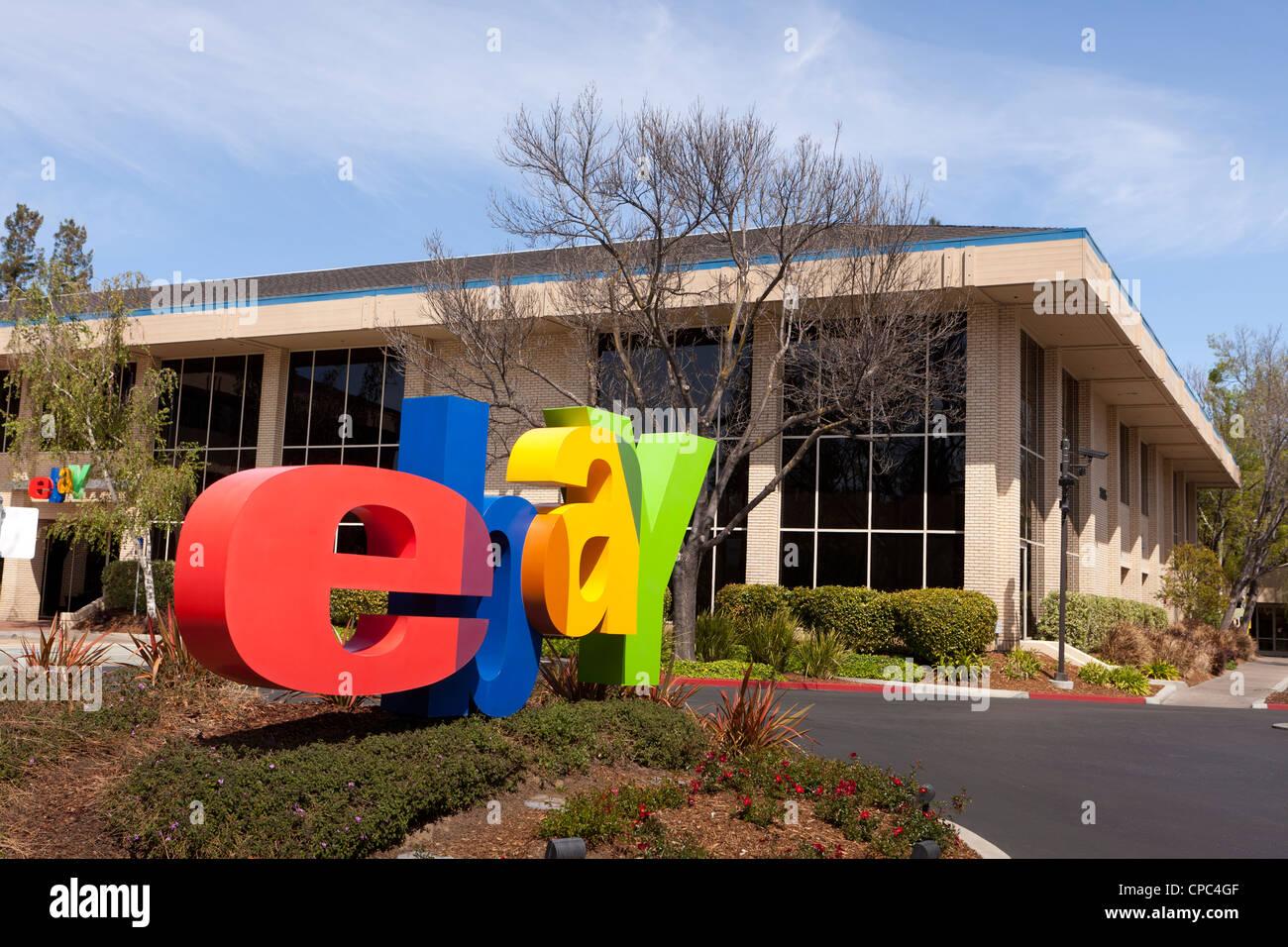 eBay Headquarters building - San Jose, California - Stock Image