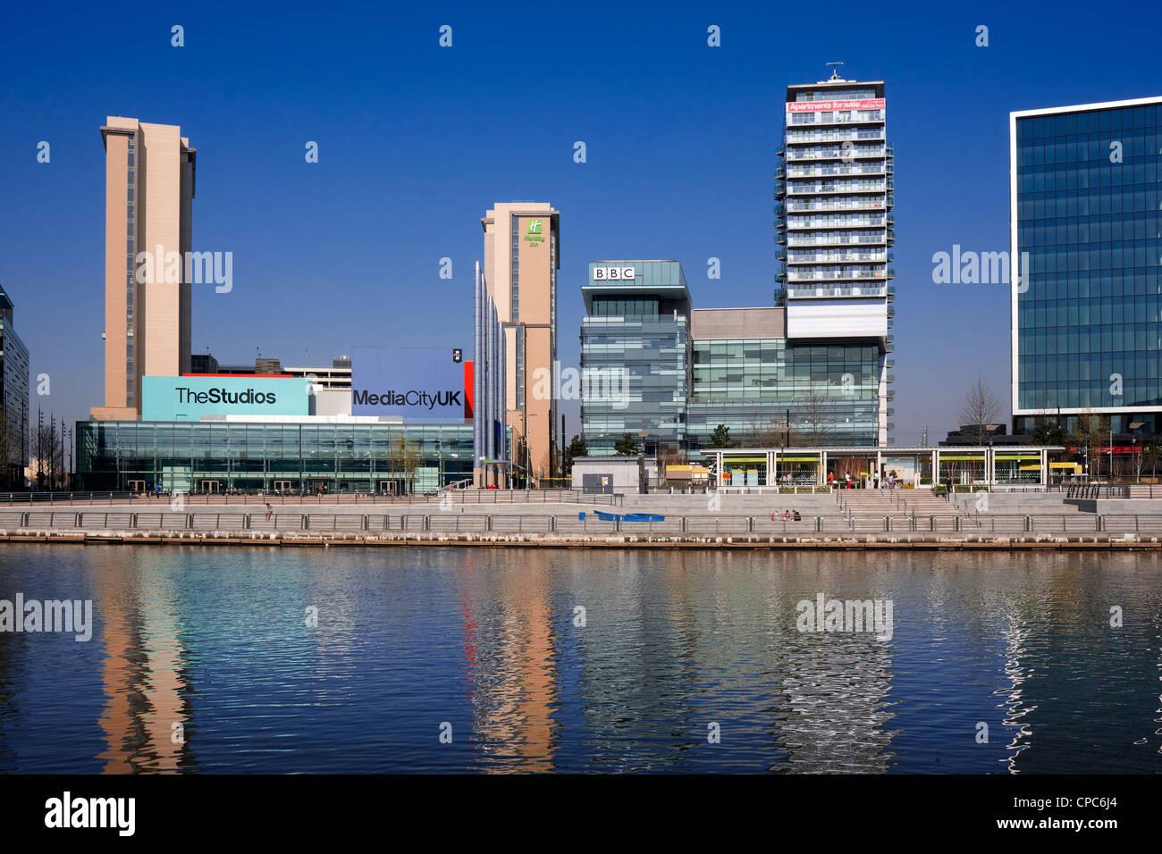 Media City UK, Salford Quays, Manchester - Stock Image