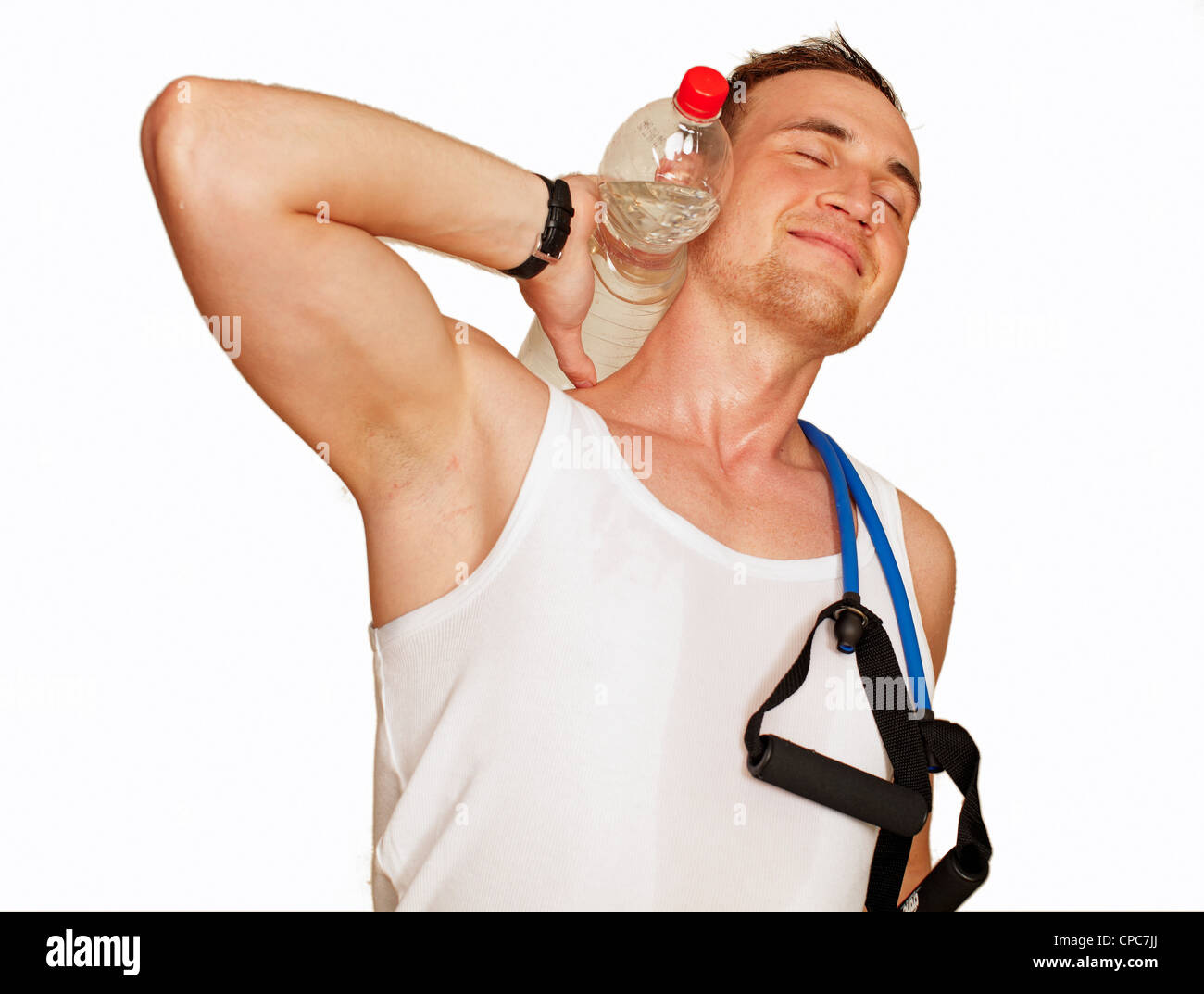 sport men - Stock Image
