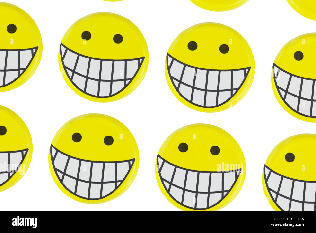 Laughing Face Emoticons Stock Photos