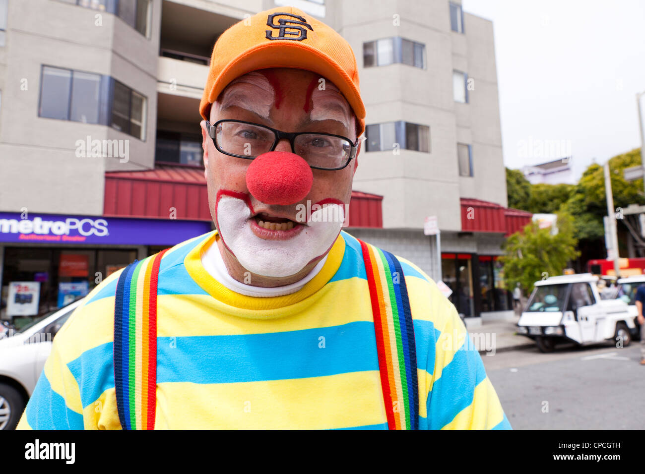 Kenny the Clown - Stock Image