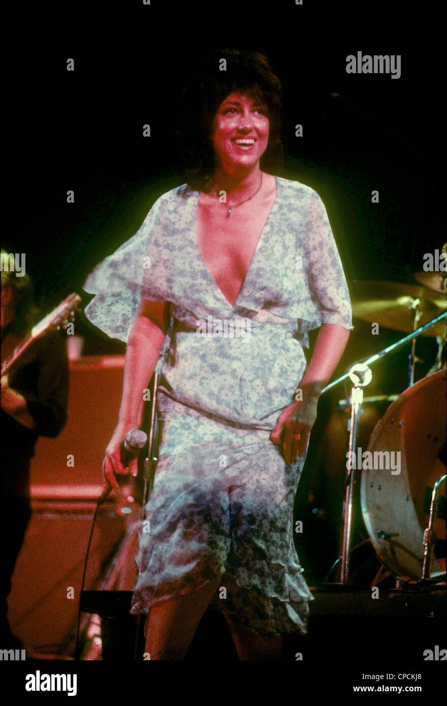 JEFFERSON STARSHIP US rock group about 1975 with Grace Slick - Stock Image
