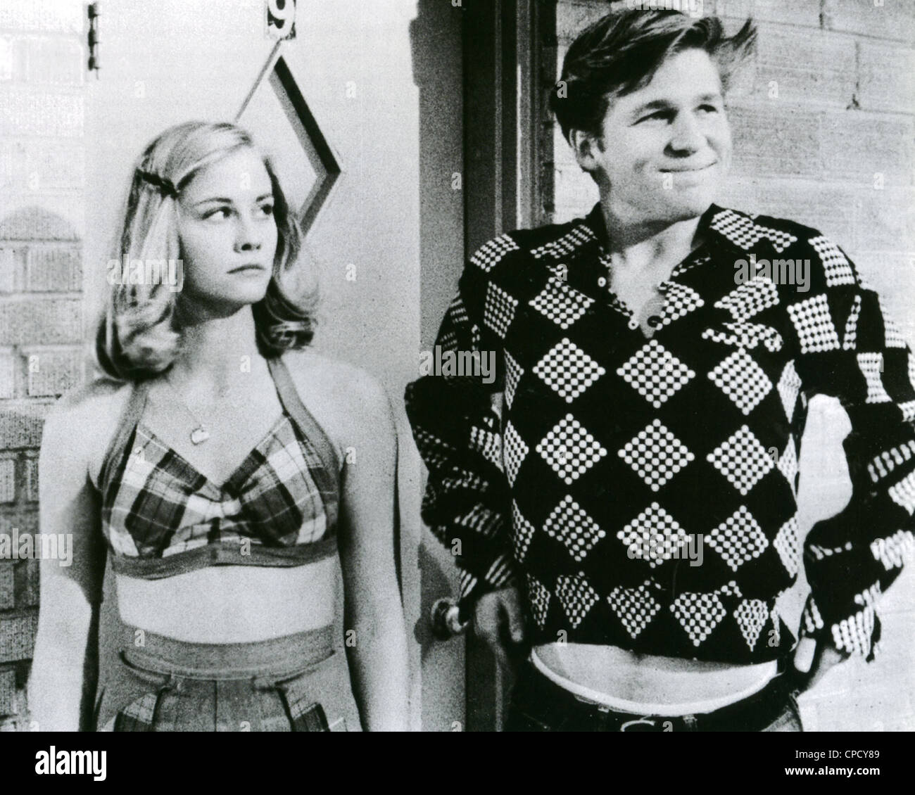 THE LAST PICTURE SHOW 1968 Columbia film with Cybill Shepherd as Jacy Stock  Photo - Alamy