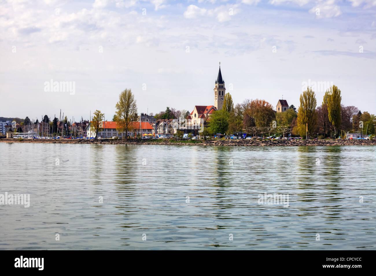 Port Romanshorn, Thurgau, Switzerland - Stock Image