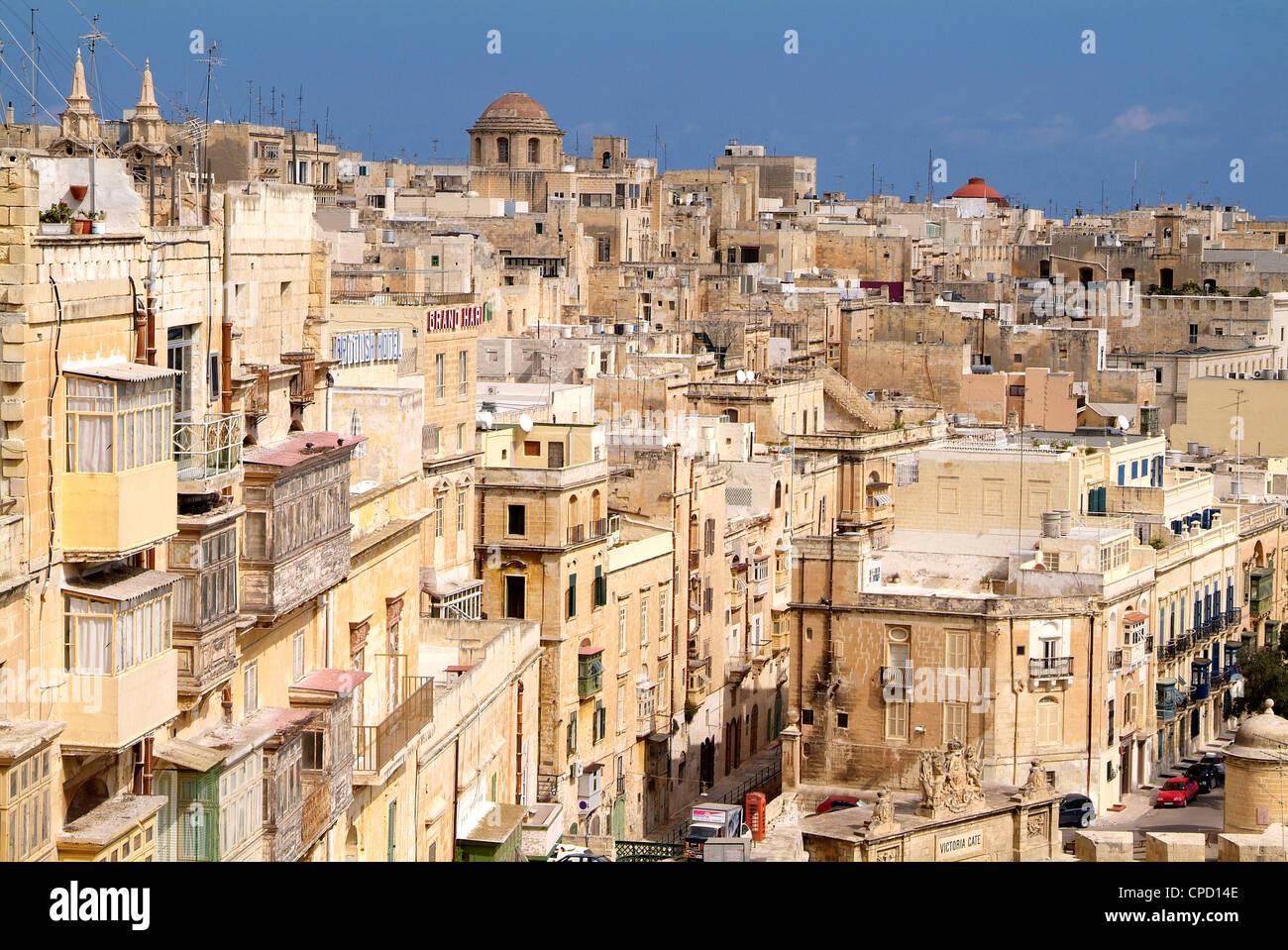 Valletta, Malta, Mediterranean, Europe - Stock Image