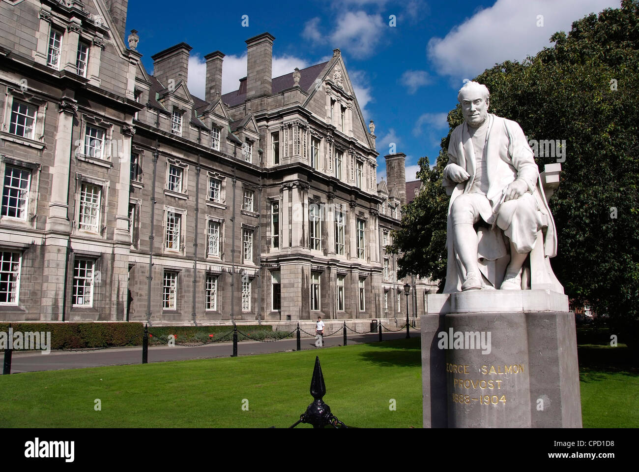 University Trinity College, Dublin, Republic of Ireland, Europe - Stock Image