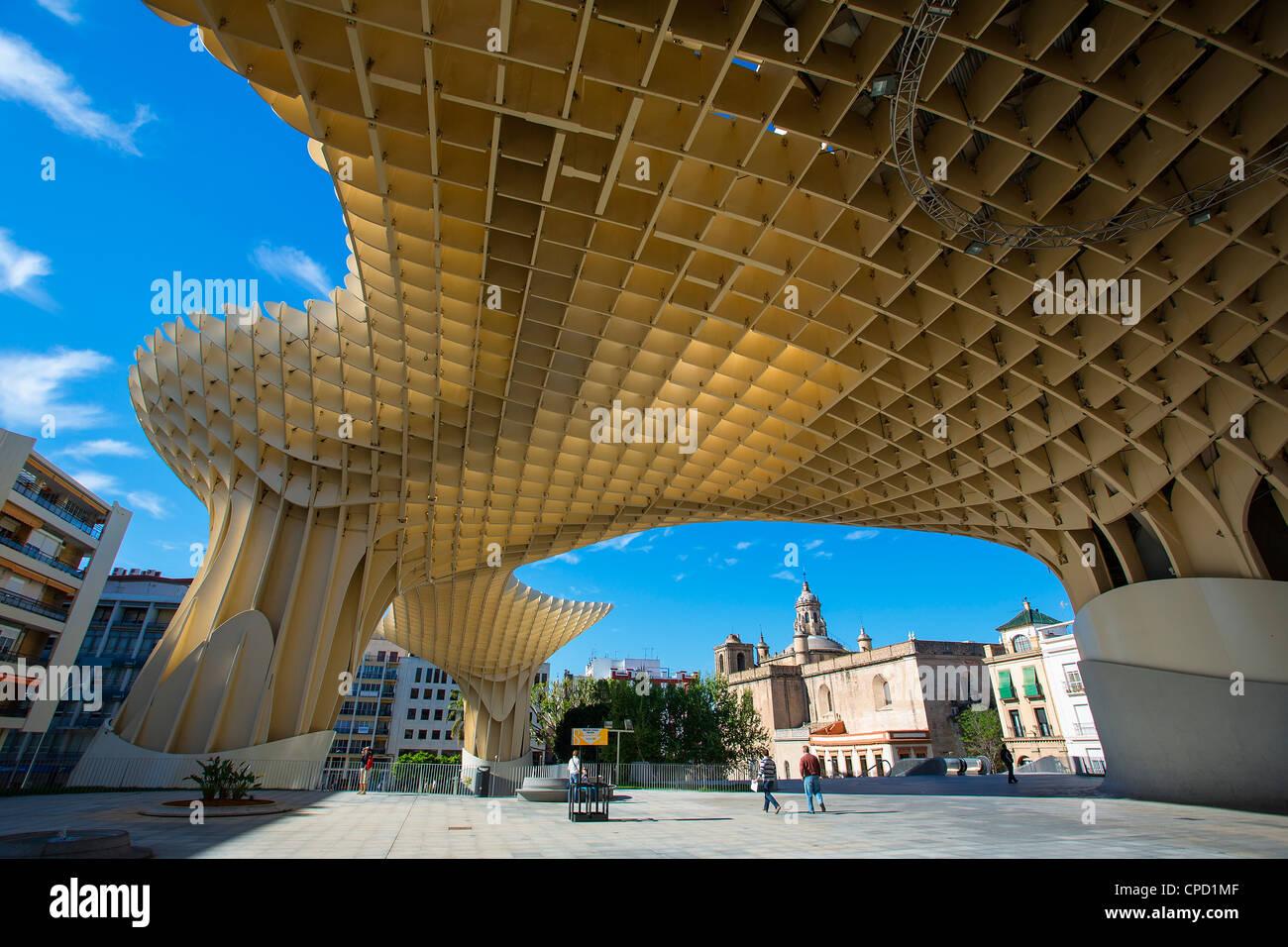 Seville, Metropol Parasol, J. Mayer H Architects - Stock Image