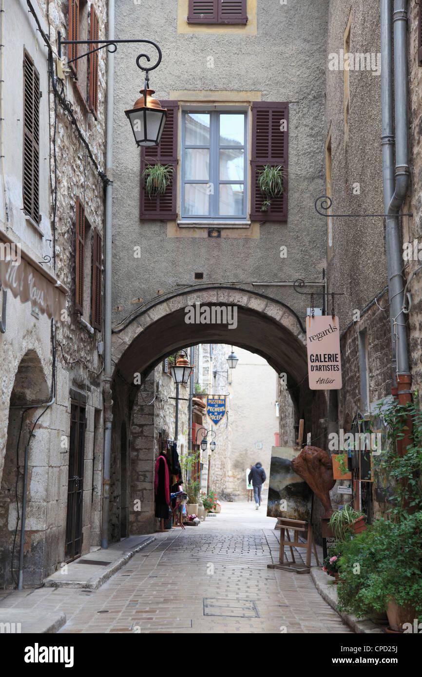 Vence, Alpes Maritimes, Provence, Cote d'Azur, France, Europe - Stock Image