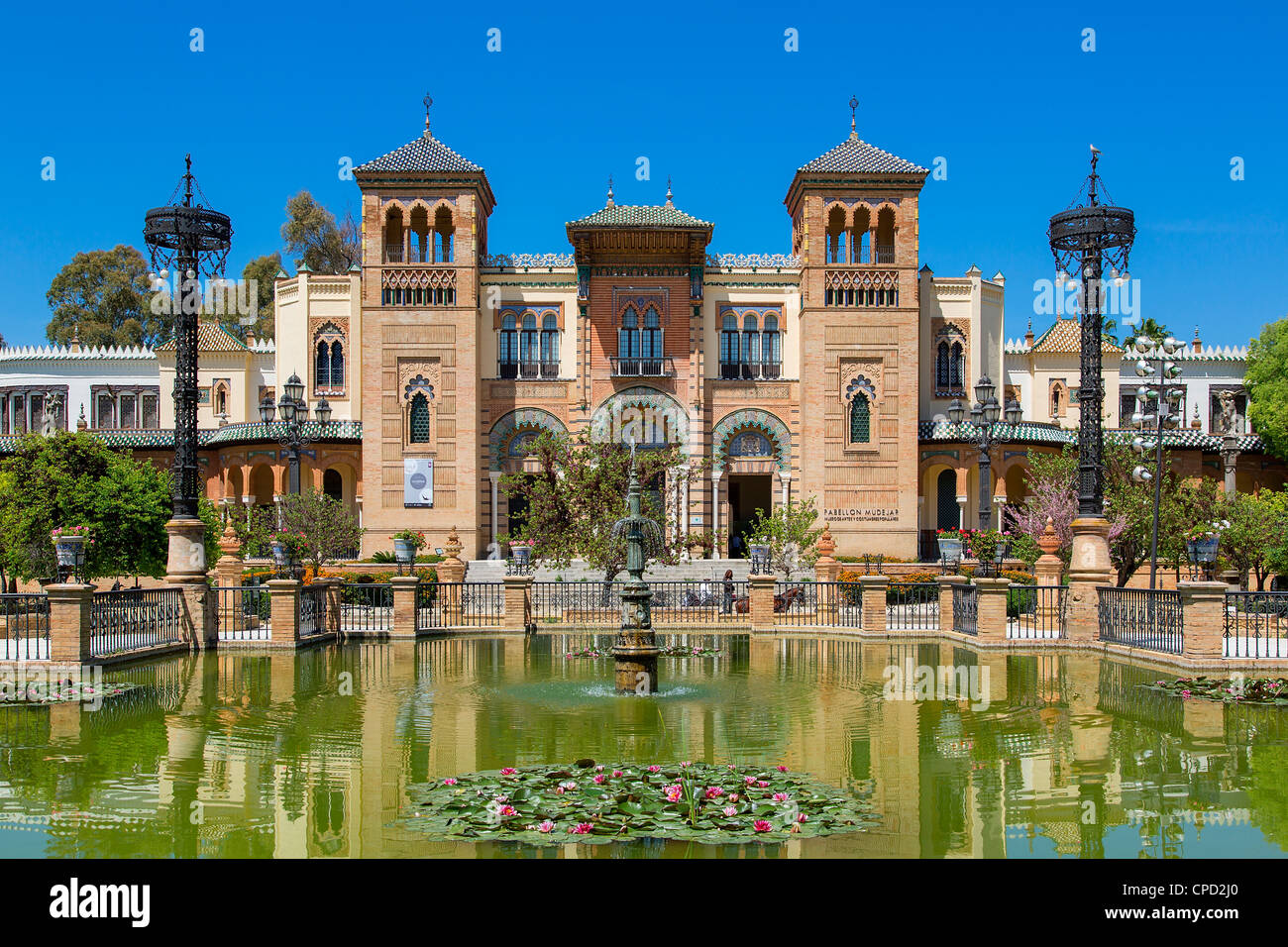 Museum of Popular Art and Folklore in Seville - Stock Image