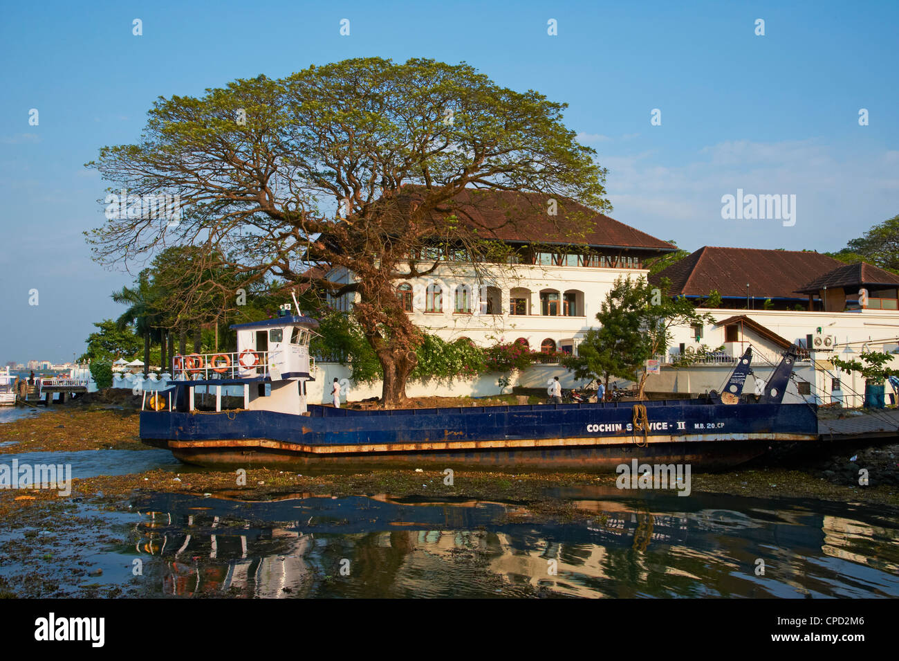 Old colonial construction, Fort Cochin (Kochi), Kerala, India, Asia - Stock Image