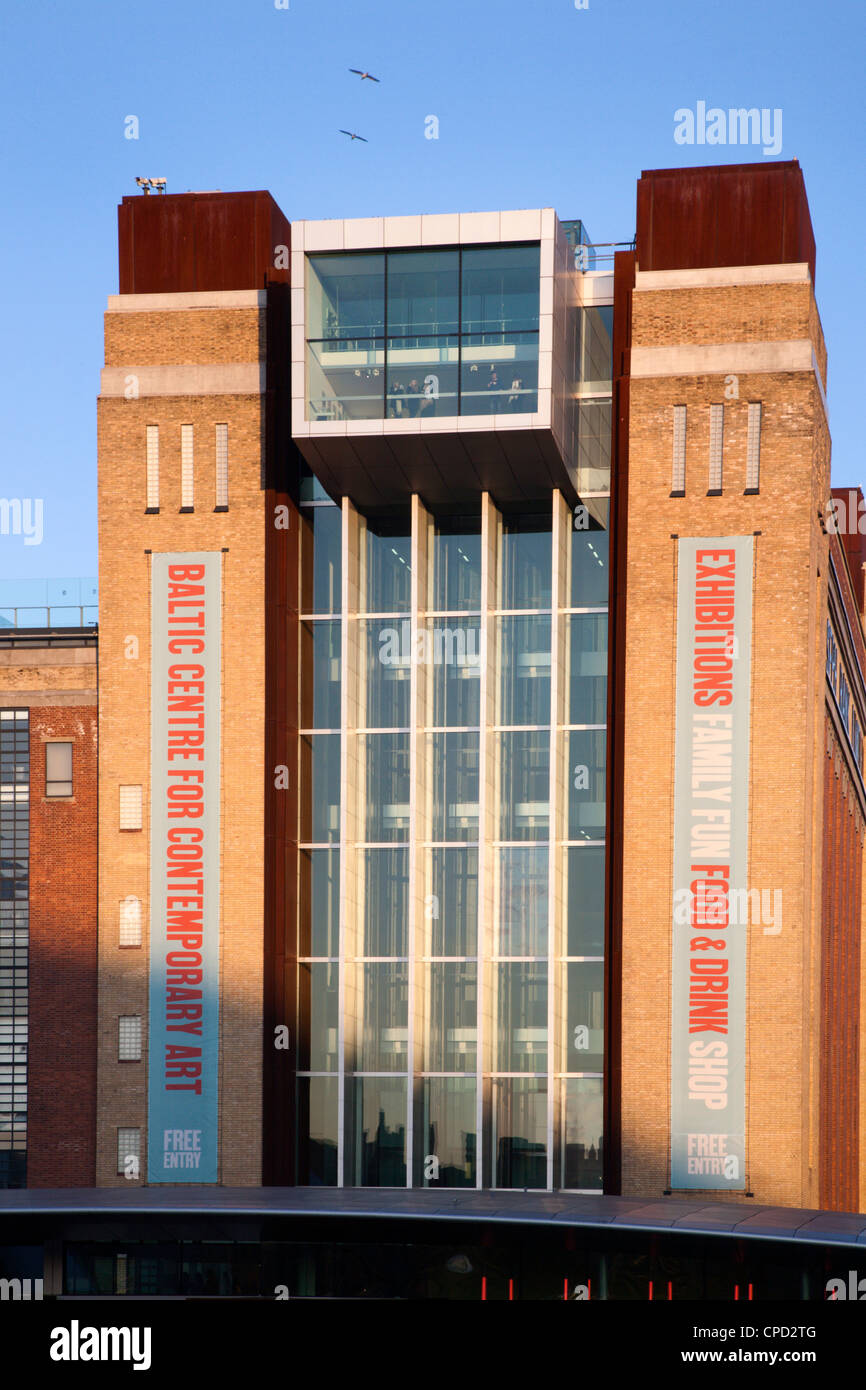 Baltic Art Gallery, Gateshead, Tyne and Wear, England, United Kingdom, Europe - Stock Image