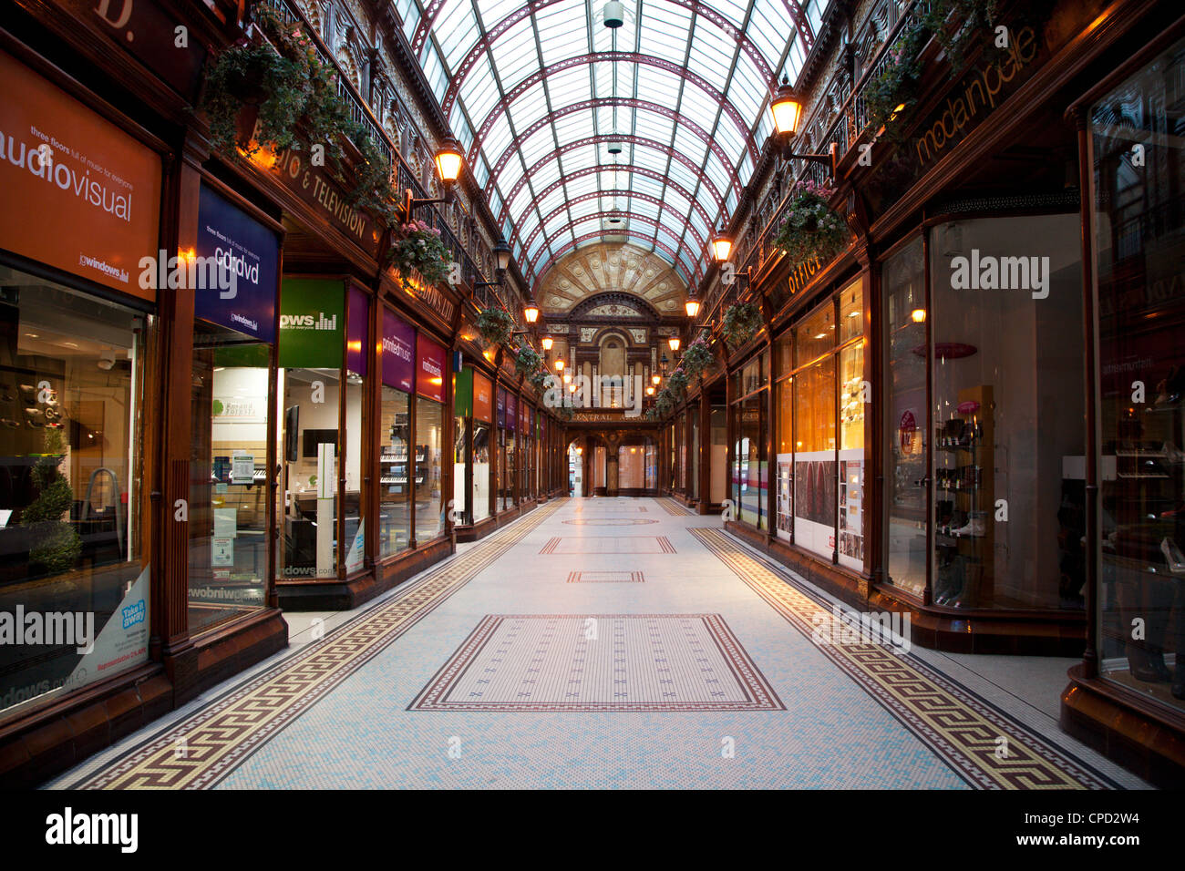 Central Arcade, Newcastle upon Tyne, Tyne and Wear, England, United Kingdom, Europe - Stock Image