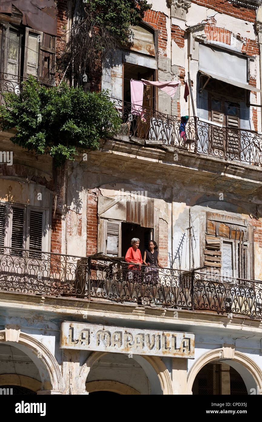 Havana Vieja, Cuba, West Indies, Central America - Stock Image