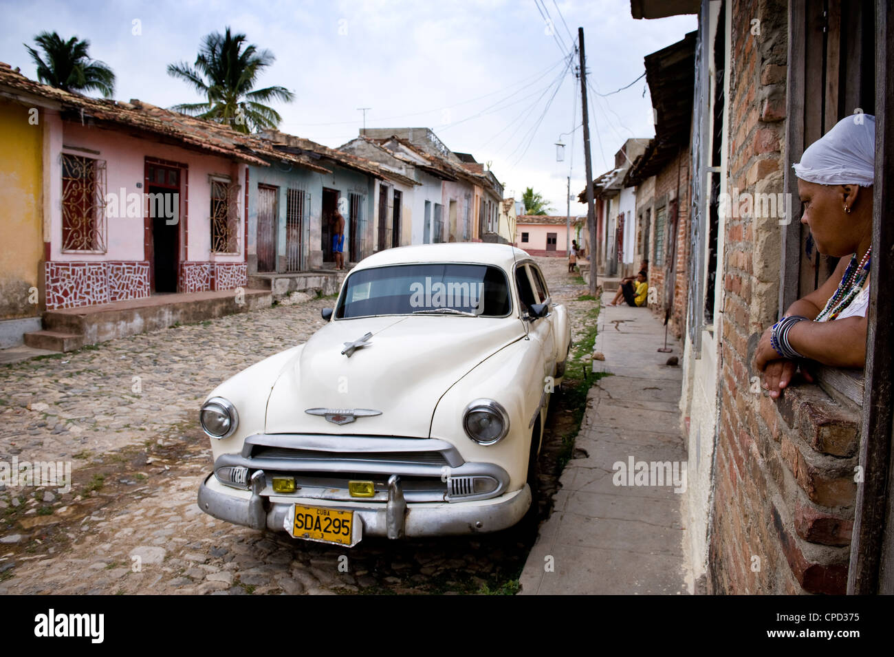 Trinidad, Cuba, West Indies, Central America - Stock Image