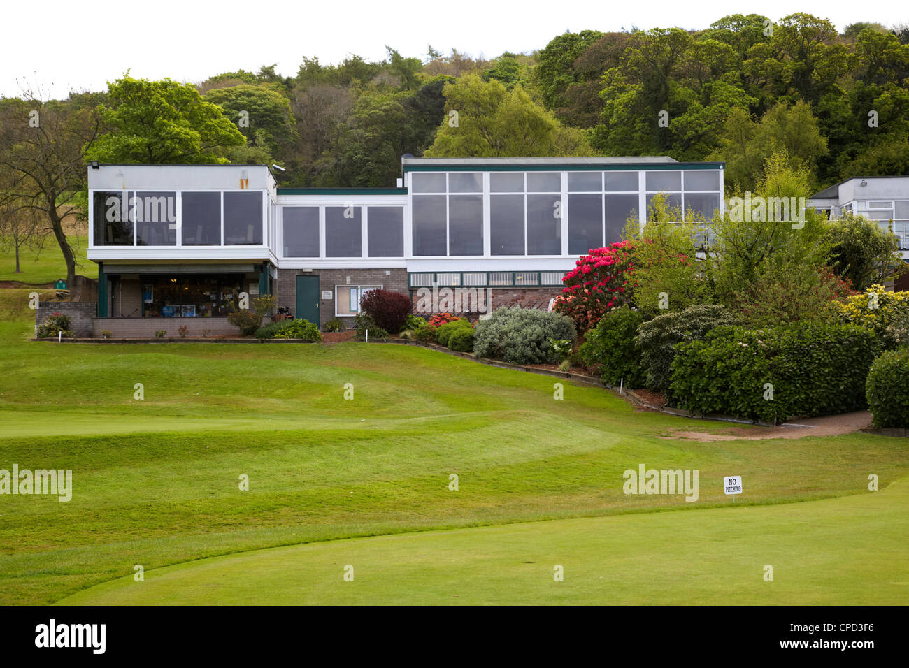clubhouse at Holywood Golf Club home to Rory McIlroy County Down Northern Ireland uk - Stock Image