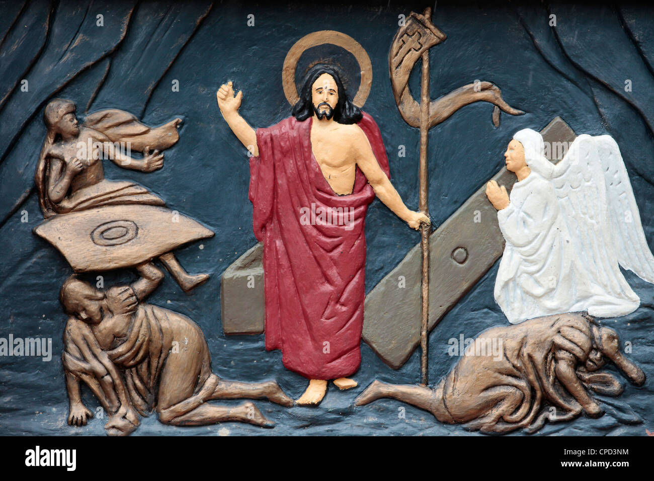 Christ's Resurrection, Ouidah, Benin, West Africa, Africa - Stock Image