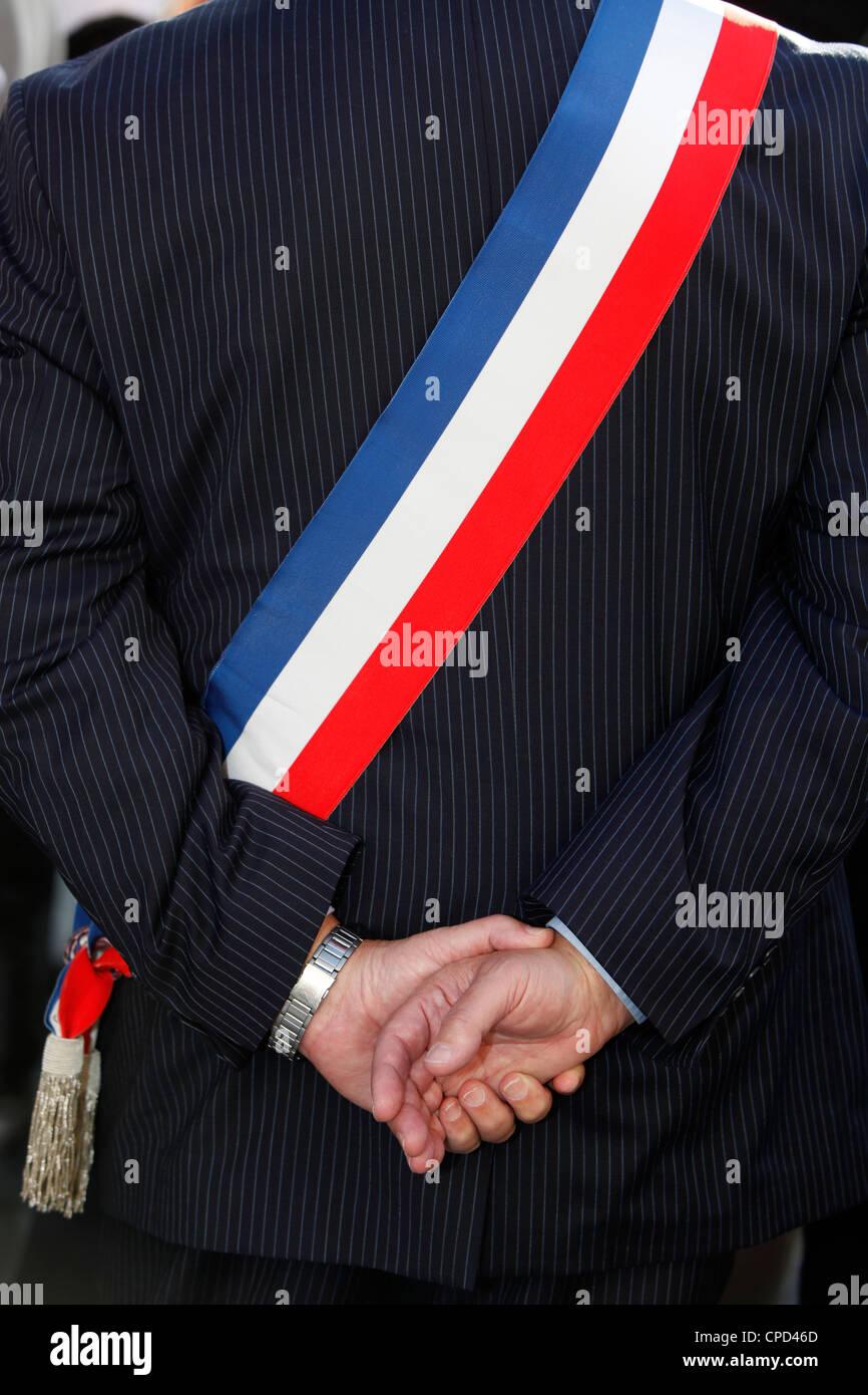 Mayor, Paris, France, Europe - Stock Image