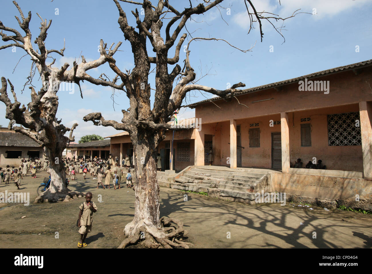 Primary school, Lome, Togo, West Africa, Africa - Stock Image
