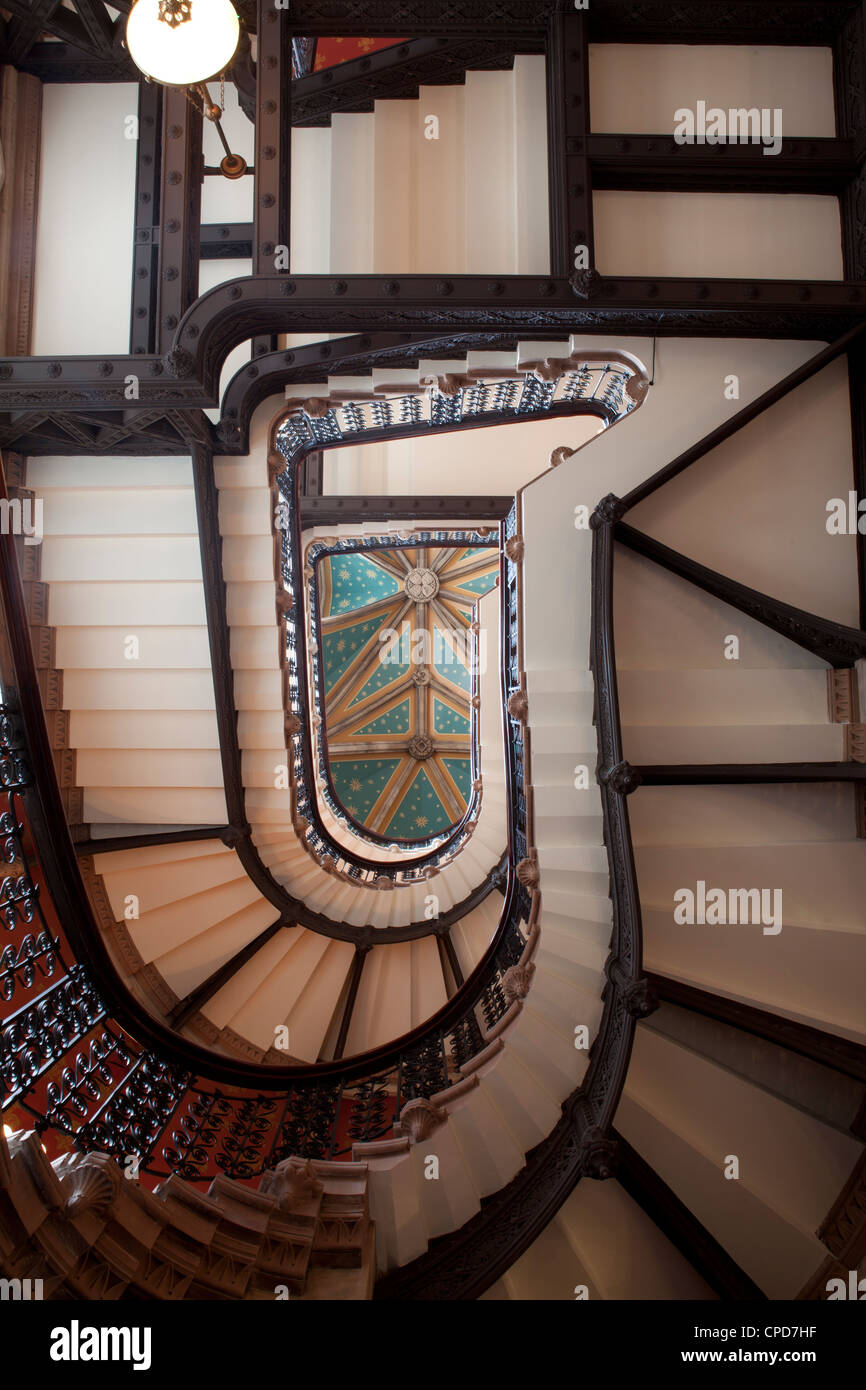St Pancras Station Hotel London UK - Stock Image