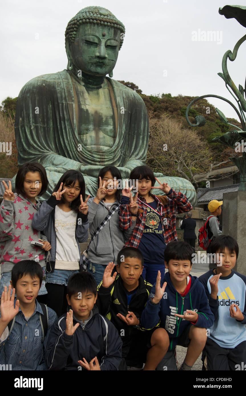 Kamakura, Kanagawa Prefecture, Honshu, Japan - Stock Image