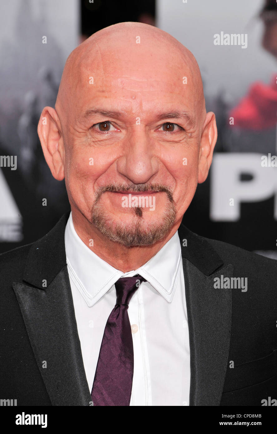 Sir Ben Kingsley - Stock Image