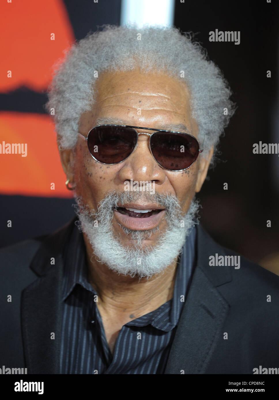 Morgan Freeman - Stock Image