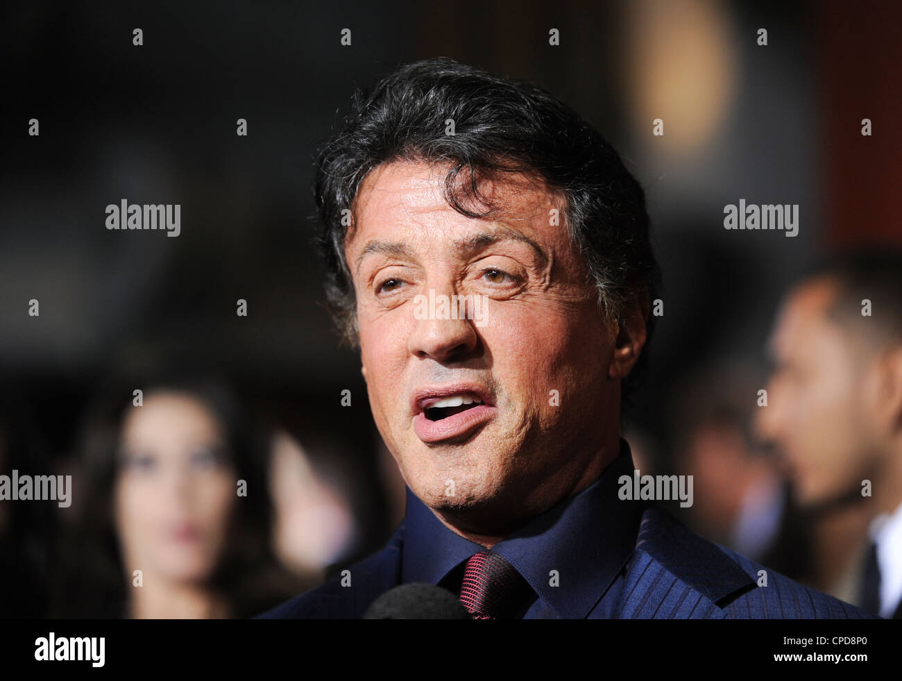 Sylvester Stallone - Stock Image