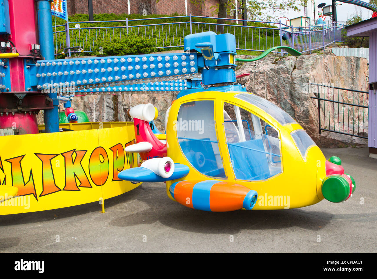 amusement park equipment - Stock Image