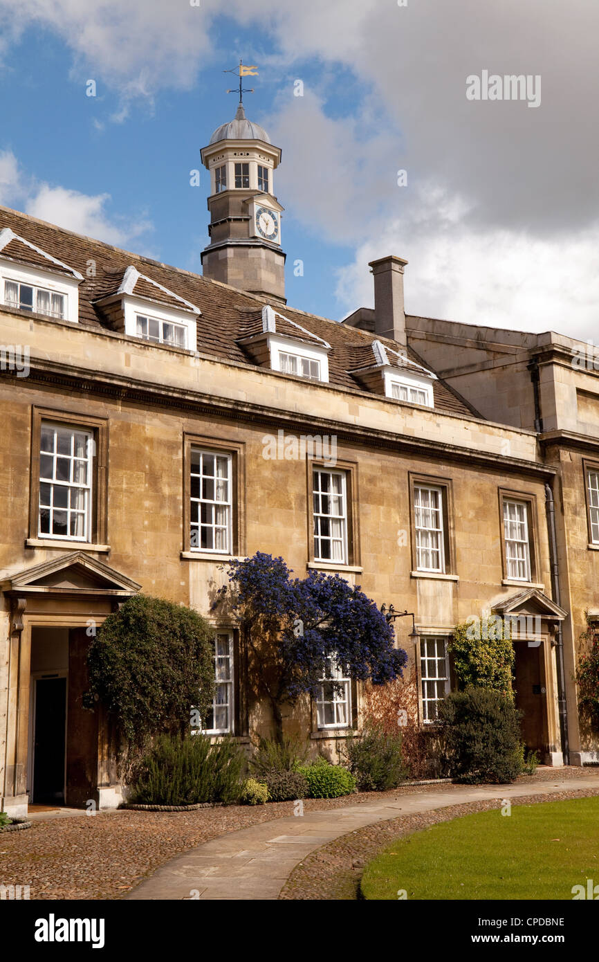 Christs College, Cambridge University UK - Stock Image