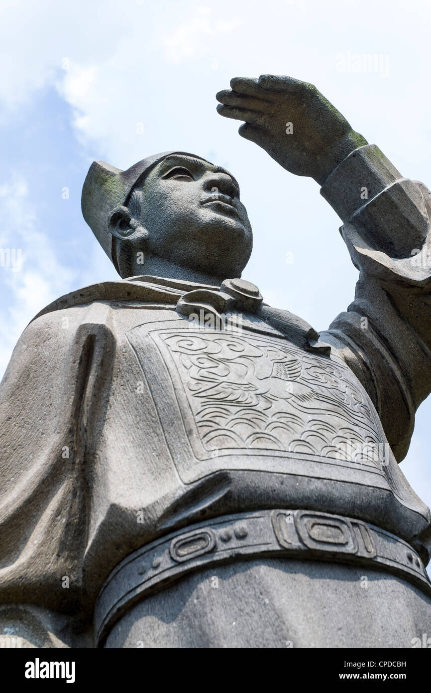 Statue Of Zheng He, Chinese Garden, Singapore Stock Photo ...