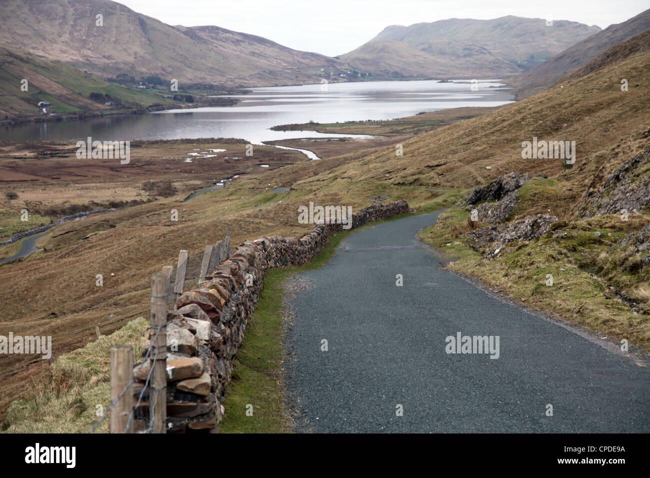 Central Connemara, County Galway, Connacht, Republic of Ireland, Europe - Stock Image