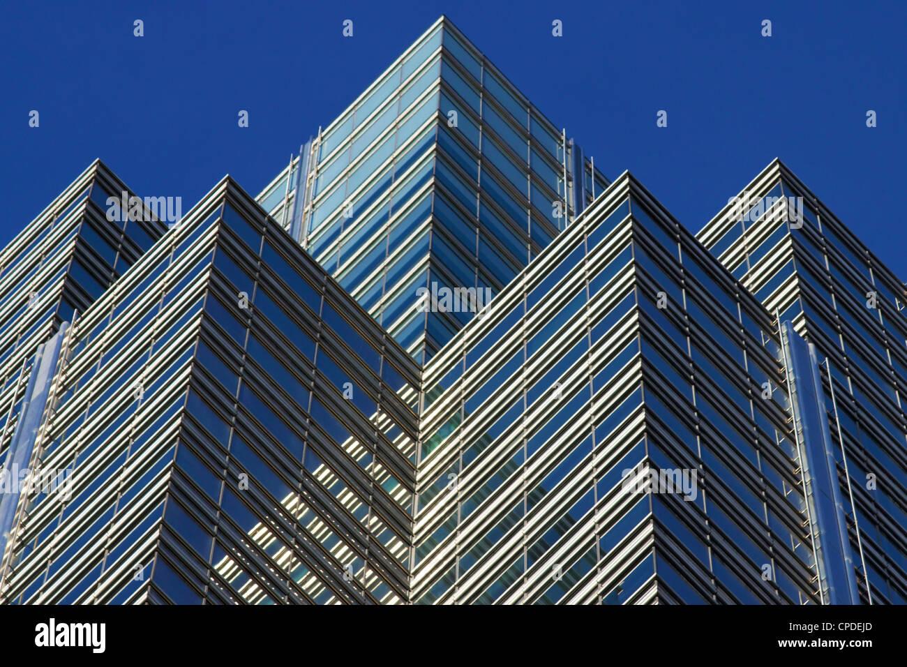 Canary Wharf, Docklands, London, England, United KIngdom, Europe - Stock Image